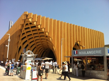 French pavilion in Expo 2015