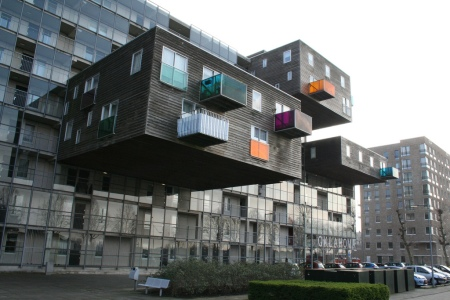 MVRDV WOZOCO housing complex